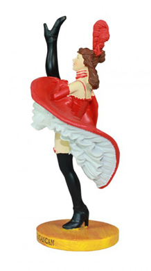 Figurine French-cancan