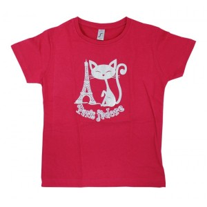 T-shirt enfant paris j'adore