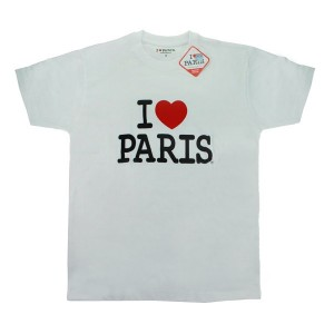 T-shirt homme i love Paris