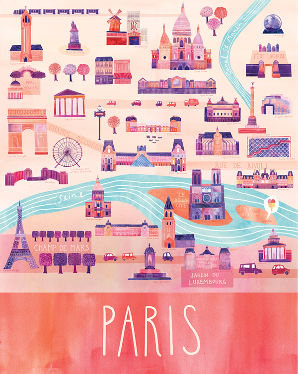 Paris en illustration